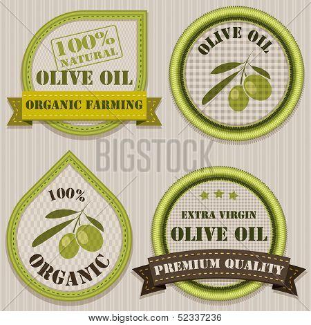 Olive Oil Labels.