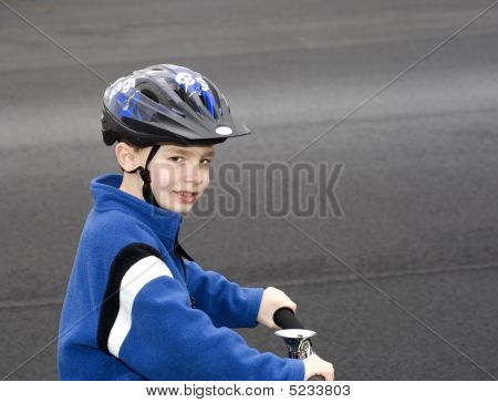 Wearing Helmet