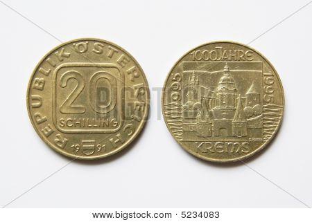 Austrian 20 Schilling Coins