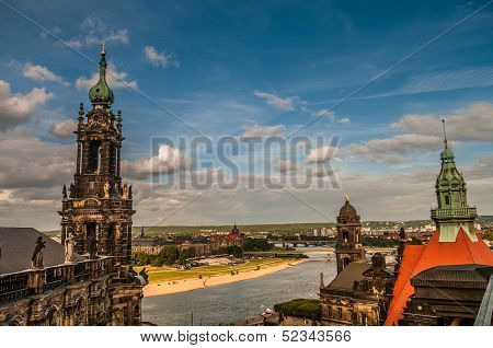 Dresden From The Roof, Dresden, Germany