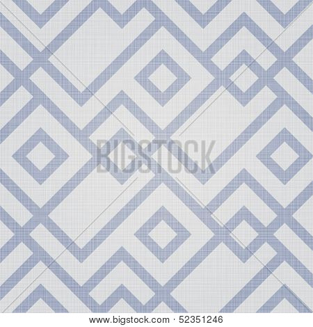 Retro geometric seamless pattern. Seamless pattern included in swatch panel.