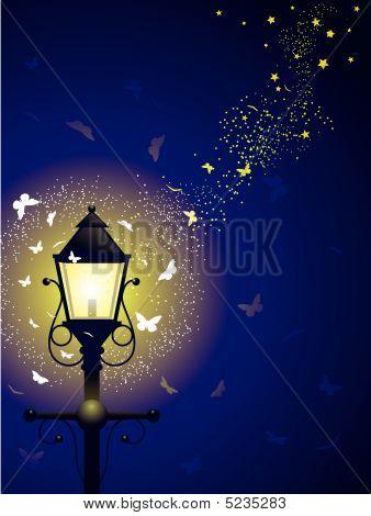 Streetlamp Swarm