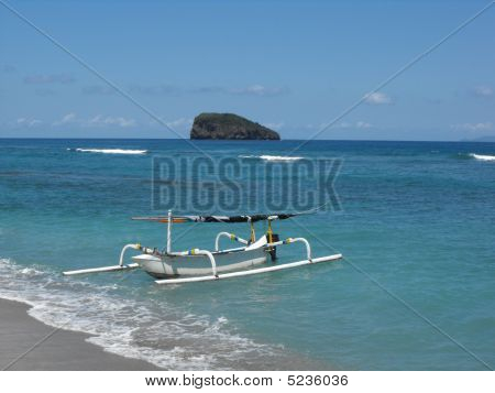 Balinese fishing boat
