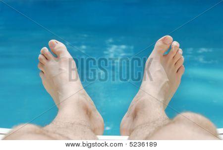 Relaxing Feet In Summer