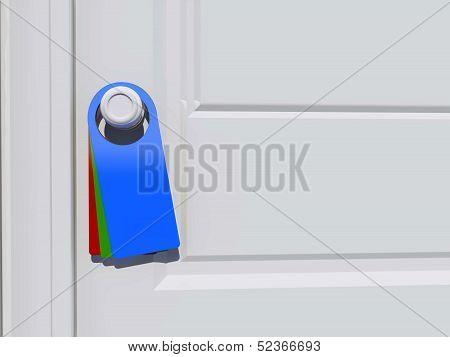 Tag On Door Handle