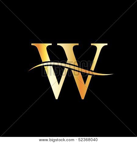 Golden w