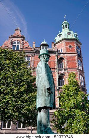 Monument Of Hans Christian Andersen In Copenhagen