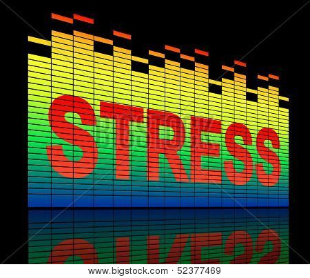 Stress Levels Concept.