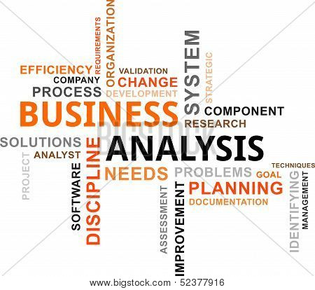Word Cloud - Business Analysis