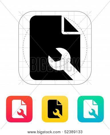 Repair File icon.