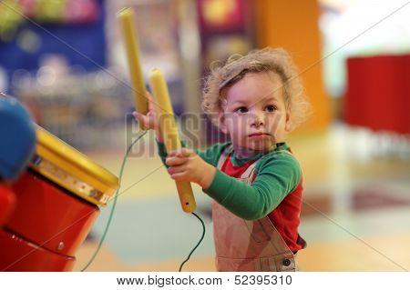 Toddler Drumming
