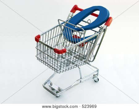 E-Commerce Shopping Cart (Draufsicht)