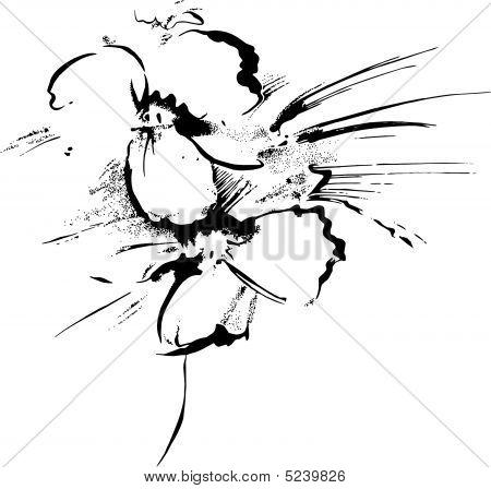 Handmade Painting Flower
