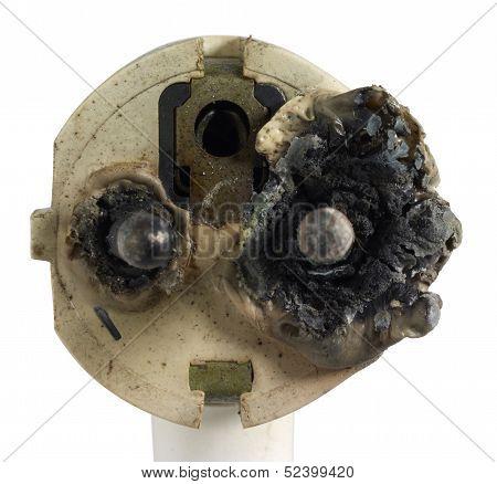 Burnt Power Plug