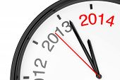 stock photo of countdown  - The year 2014 is approaching - JPG