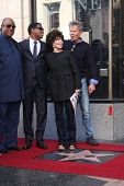 LOS ANGELES - OCT 10: Stevie Wonder, Kenny Edmonds, Carole Bayer Sager, David Foster at the Kenny  E