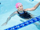 NEW YORK- OCT 8: Long-distance swimmer Diana Nyad attends Day 1 of 'Swim For Relief' benefiting Hurr
