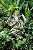 pic of ganesh  - ganesh hindu god stone statue in bali indonesia - JPG