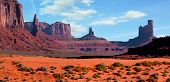 image of cloud formation  - Beautiful landscape at Monument Valley - JPG