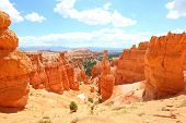 picture of hoodoo  - Bryce Canyon National Park landscape - JPG