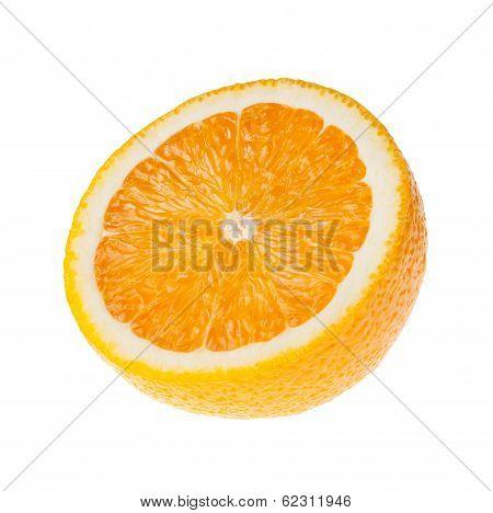 Half orange fruit