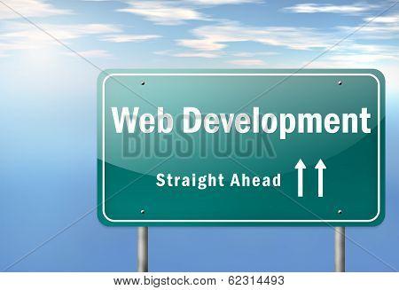 Highway Signpost