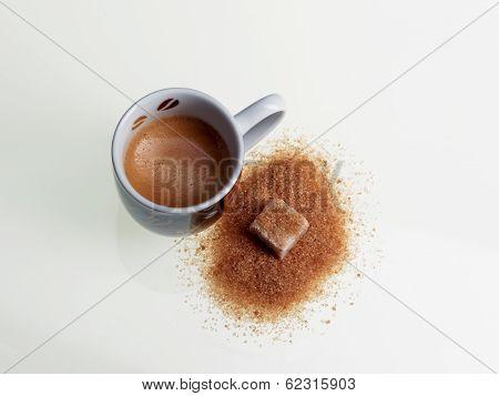 espresso and brown sugar