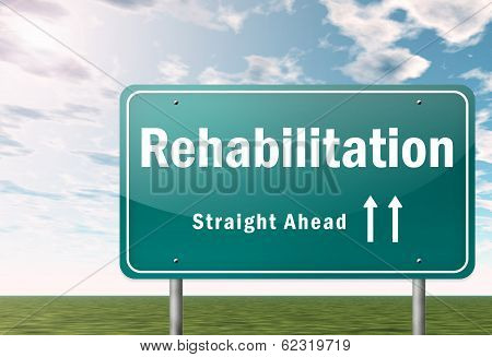 Highway Signpost Rehabilitation