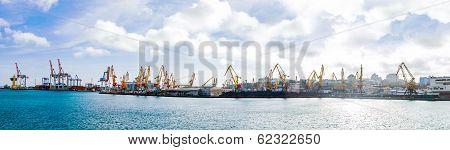 Odessa sea commercial port