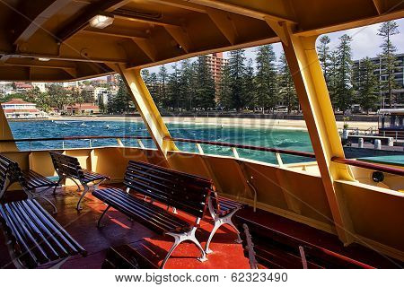 The best seats on the Manly Ferry
