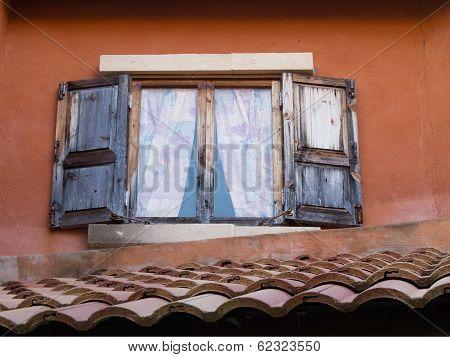 Vintage Wood Window