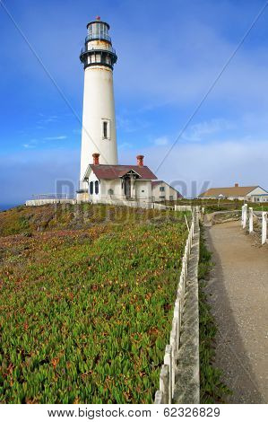 Lighthouse, Big Sur Coast, California