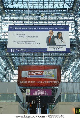 Javits Center convention center lobby