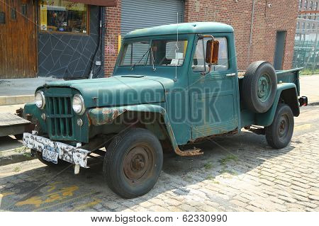 1953 Willys Jeep Truck in Brooklyn