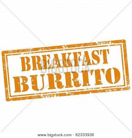 Breakfast Burrito-stamp