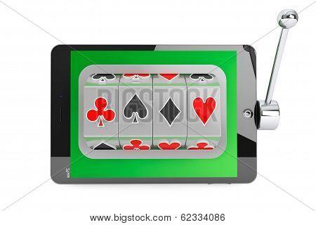 Slot Machine Inside Tablet Pc