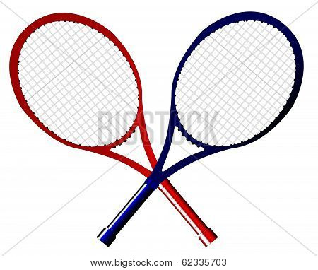 Crossed Rackets