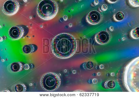 Waterdrop on CD