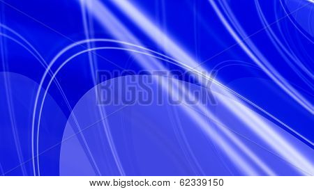 Blue Glossy Elegant Abstract Background