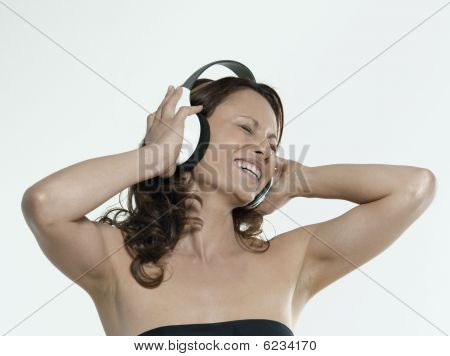 Beautiful Asian Music Woman