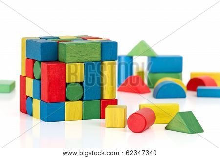Toy Blocks Jigsaw Cube