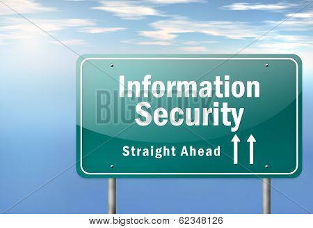 Highway Signpost Information Security