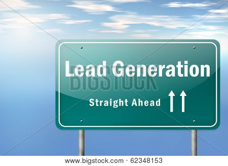 Highway Signpost Lead Generation
