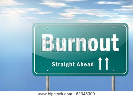 Highway Signpost Burnout