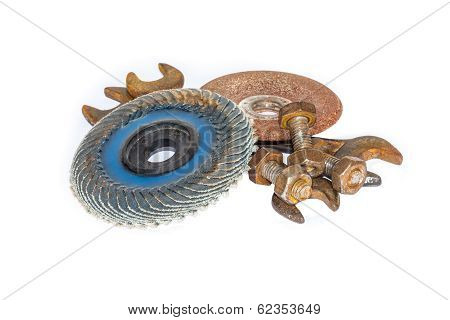 Abrasive Disk And Other Working Tools