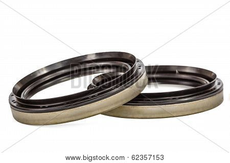 Cuff (epiploon), Isolated On White Background, With Clipping Path