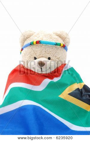 South African teddy bear
