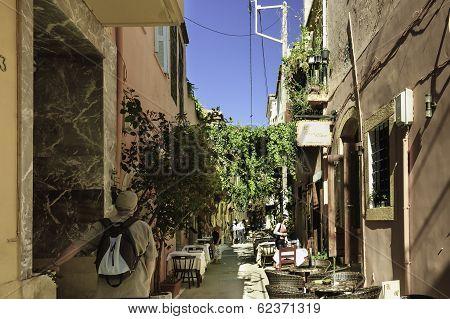 Restaurant Street Scene
