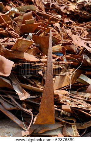 scrap metal for recycling