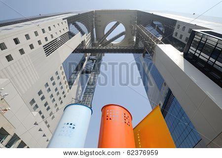 office building in Osaka Japan